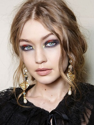 Gigi Hadid Metalic Eyeshadow