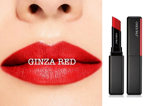 Shiseido Visionary Gel Lipstick Ginza Red