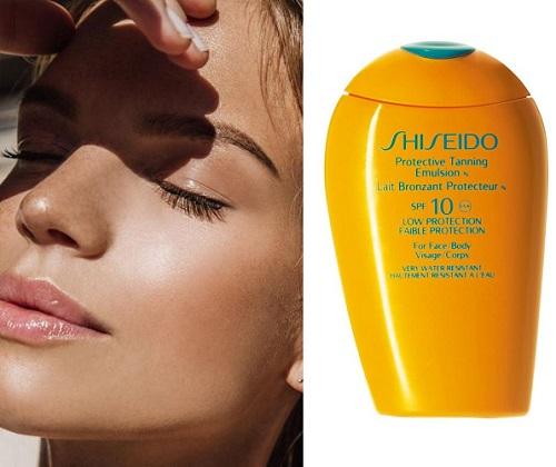 Shiseido GSC Protective Tanning Cream