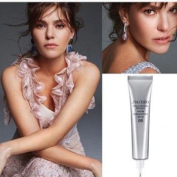 Aslı Enver Shiseido Perfect bb