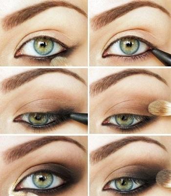 Макияж для зеленых глаз: 8 уроков поэтапно с фото и видео