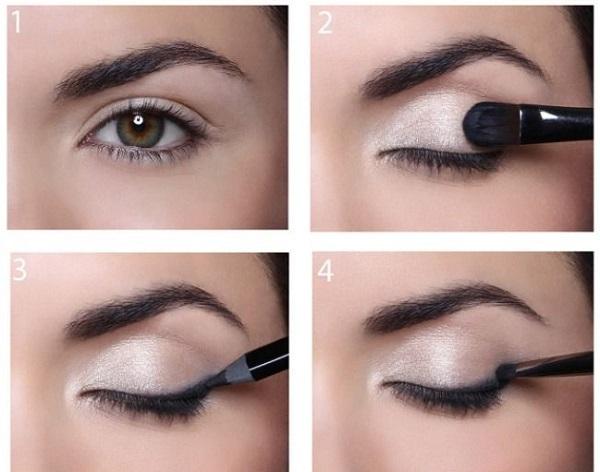Koyu renk göz makyajı