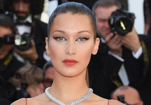 Bella Hadid Cannes Eyeliner